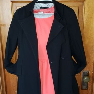 Ann Taylor Small Trench Coat Jacket